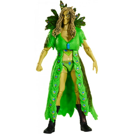 WWE Zombies Superstars Charlotte Flair Collectible Action Figure - Wwe Zombies Halloween Bag