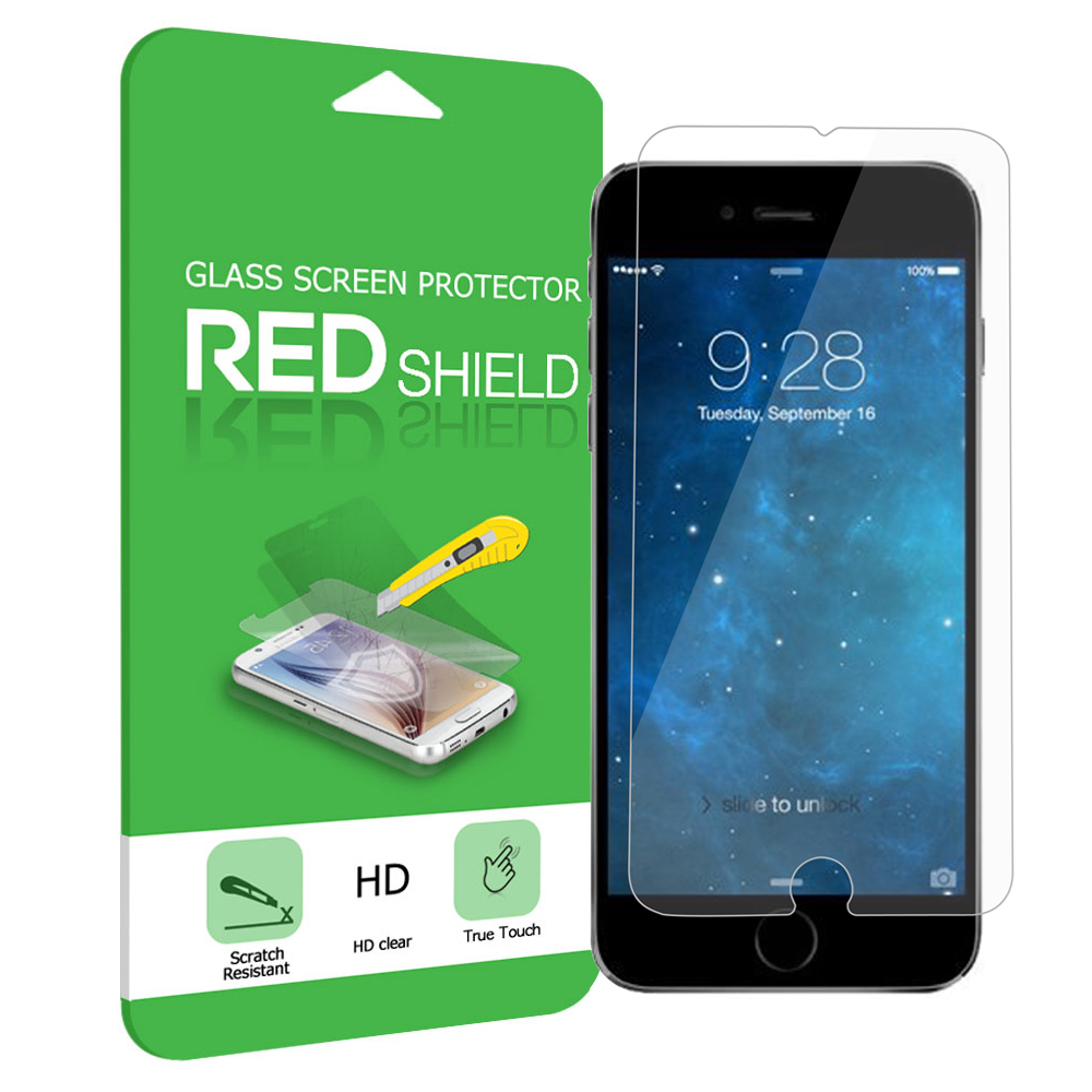 Made for Apple iPhone 6 PLUS/6S PLUS (5.5 inch) Screen Protector, [Tempered Glass] Ultimate Impact-Resistant Protective Screen Protector by Redshield