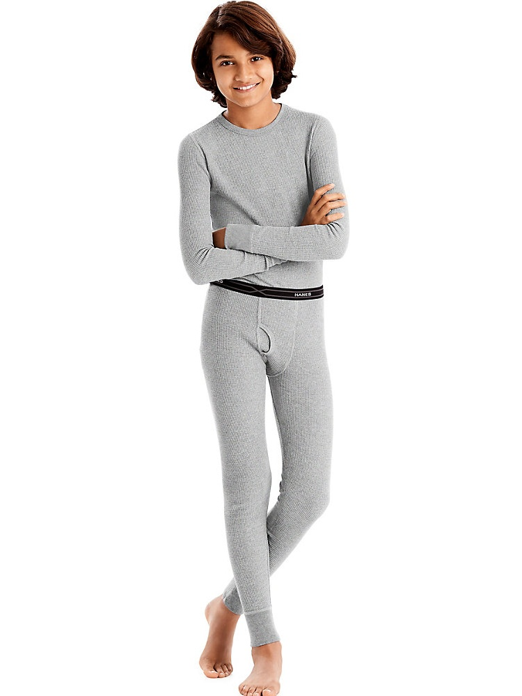 Hanes X-Temp™ Boys' Organic Cotton Thermal Set 34500