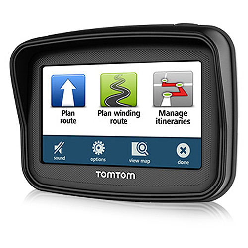 TomTom Rider 5th Edition 4 inch Motorcycle GPS
