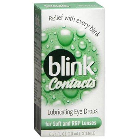 Blink les contacts Huiles gouttes oculaires 10 mL (pack de 4)