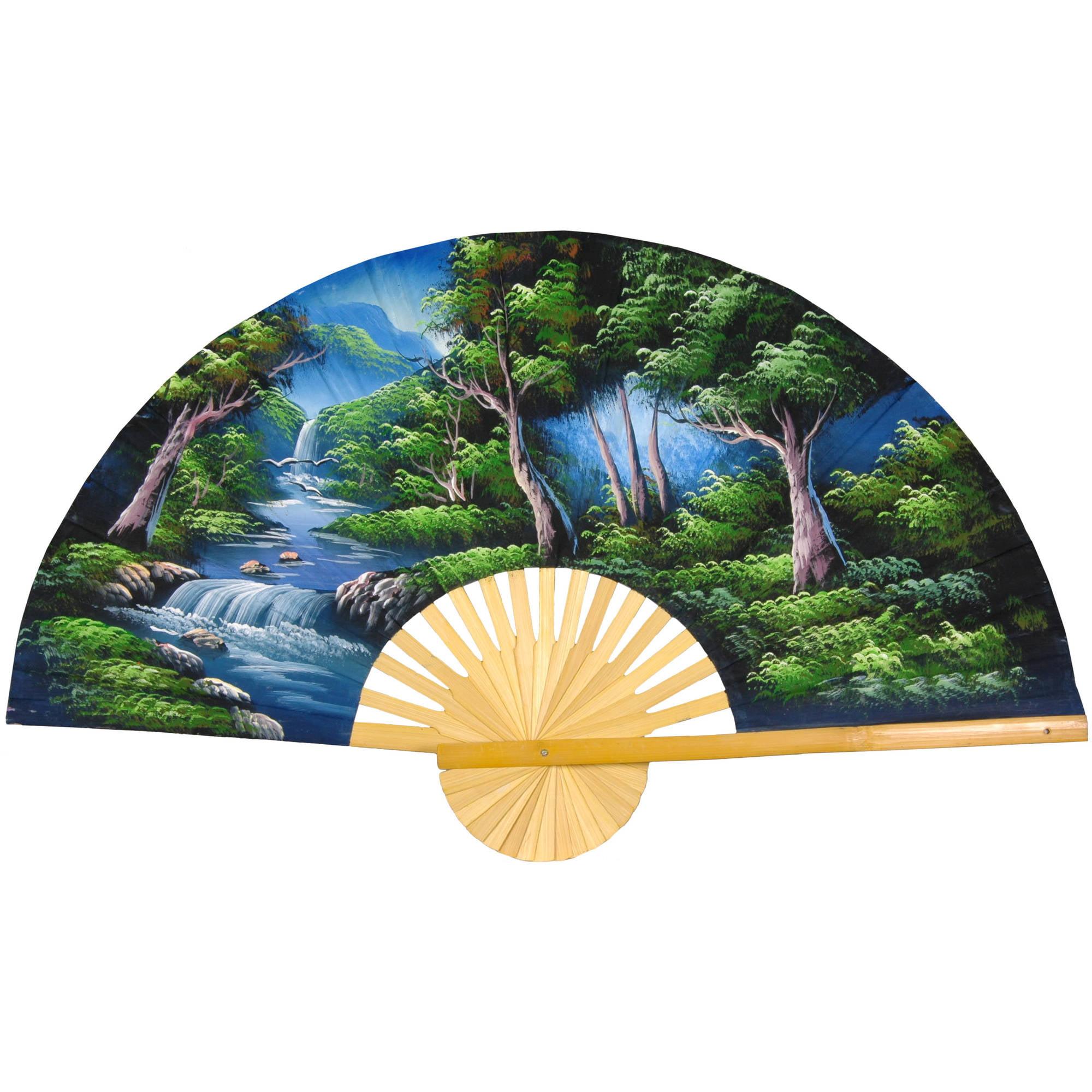 Asian Forest Wall Fan