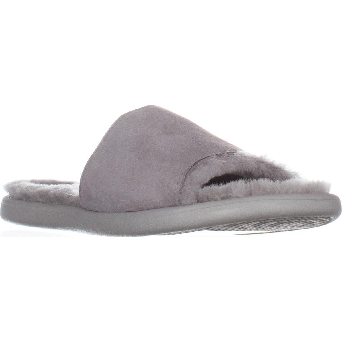 Womens UGG Australia Breezy Flat Slipper Sandals, Seal