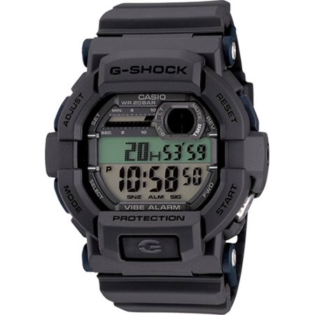 G-shock Stopwatch - Casio Men's G-Shock Watch, Gray - GD350-8