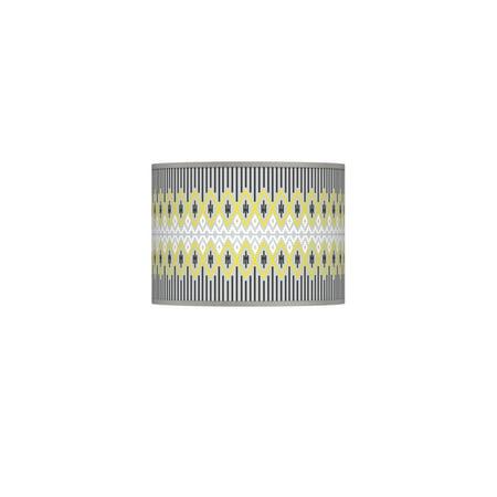 Giclee Glow Desert Geometric Giclee Lamp Shade 13.5x13.5x10 (Spider)