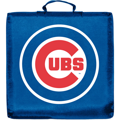 CHICAGO CUBS OFFICIAL LOGO STADIUM SEAT CUSHION