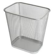 Ybm Home  Steel Mesh Rectangular Open Top Waste Basket