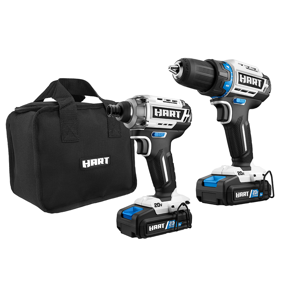 18 Volt Cordless Drill With 89-Piece Drill Bits Polishing Kit Power Tool Set NEW