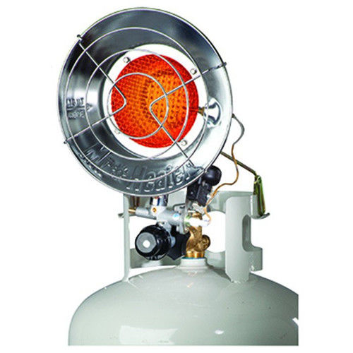 Factory-Reconditioned Mr. Heater A333150 15,000 BTU Tank Top Infrared Propane Heater (Refurbished)