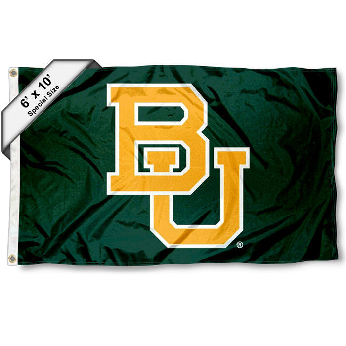 Baylor BU Bears Large 6' x 10' Flag