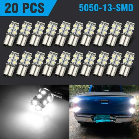 20 X Super Bright 1141 Interior Light Bulbs Ba15s 1156 13