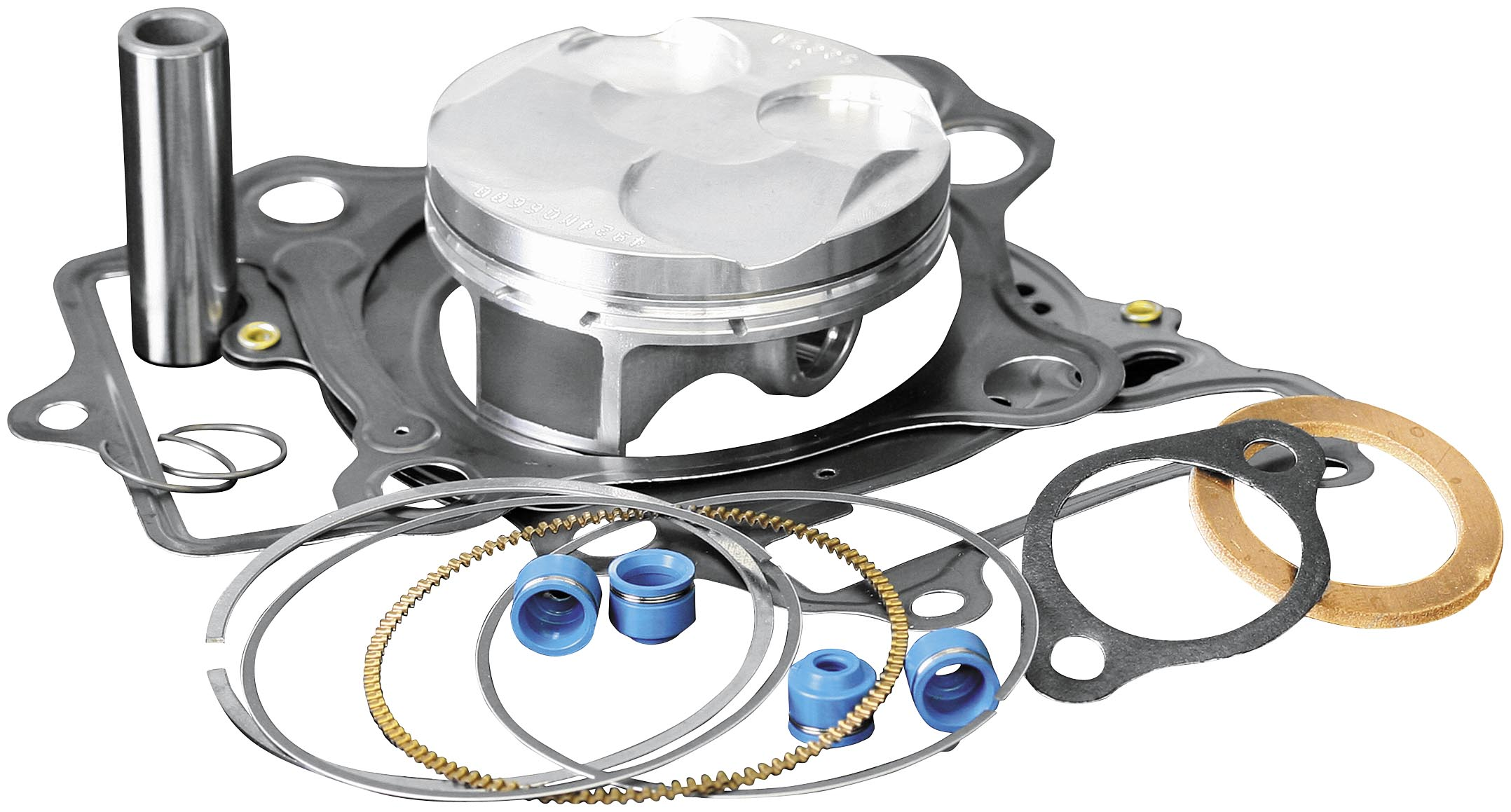 Wiseco PK1229 53.50 mm 9.4:1 Compression Motorcycle Piston Kit with Top-End Gasket Kit