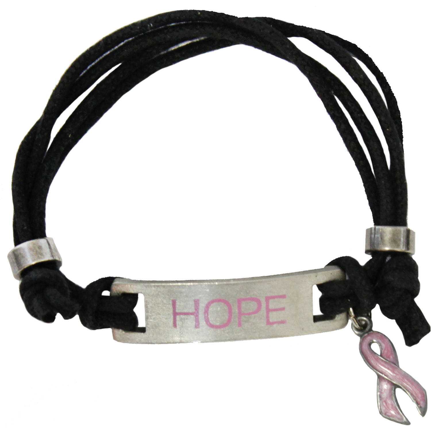 Gloria Duchin Breast Cancer Awareness Adjustable Bracelet