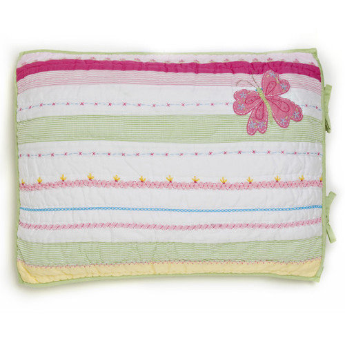 Whistle and Wink Butterfly Party Standard Sham