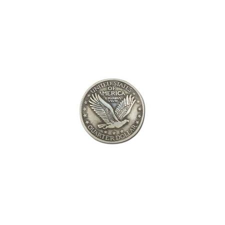 Tandy Leather Eagle Quarter Concho Screwback 1
