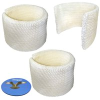 HQRP Filter 3-pack for AirCare MAF2 MA0800 Humidifier + HQRP Coaster