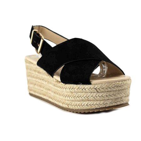 9457f81455e Nine West Womens beachy gd Open Toe Casual Platform Sandals - image 1 of 2  ...
