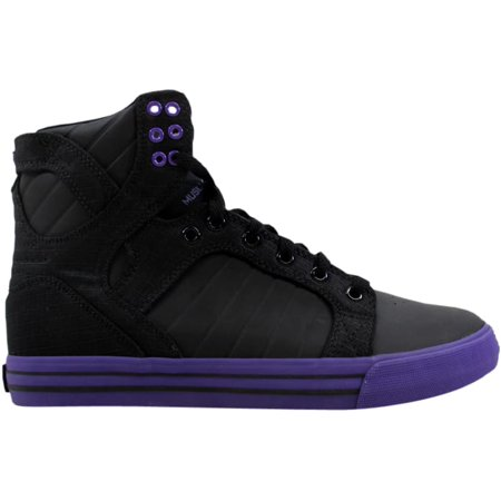 6fb06fb13ff3 Supra - Supra Men s Skytop Black Purple-Purple S18169 - Walmart.com