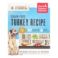 The Honest Kitchen Embark: Natural Human Grade Dehydrated Dog Food, Grain Free Turkey, 10 lbs (Makes 40 lbs)