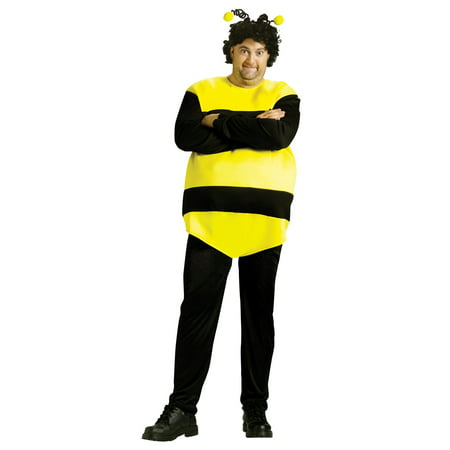 Killer Bees Adult Halloween Costume - One Size (Adult Bee Costume)