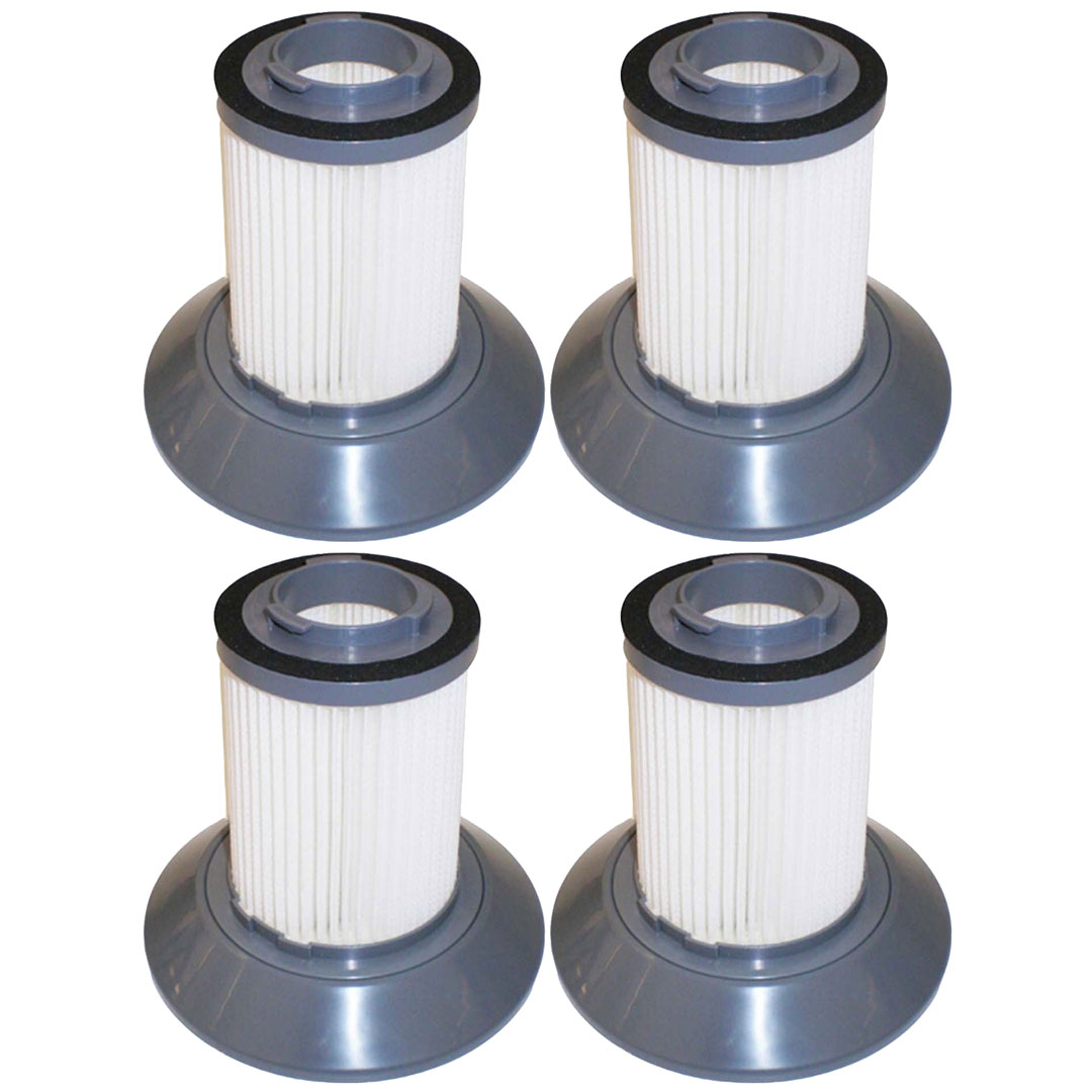 Felji 4 Pack Replacement Filters for Bissell Dirt Bin Zing Bagless Canister Vacuum Part # 203-1532