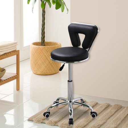 Yaheetech Pedicure Spa Chair Stool Nail, Hair, Facial Technician Black
