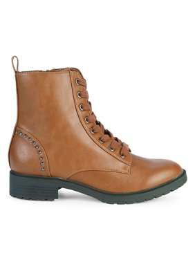 Carlee Lace-Up Boots