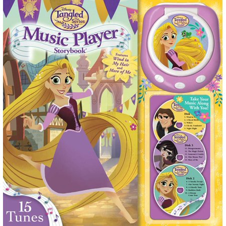 Disney Tangled The Series: Brave the Braid Music Player Storybook