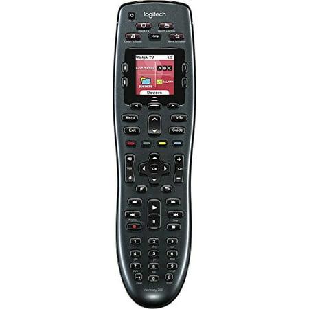 Logitech - Harmony 700 8-dispositivo control remoto Universal - negro + Logitech en Veo y Compro