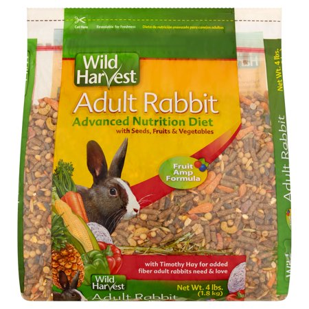 Wild Harvest Adult Rabbit Advanced Nutrition Diet  4 Lbs