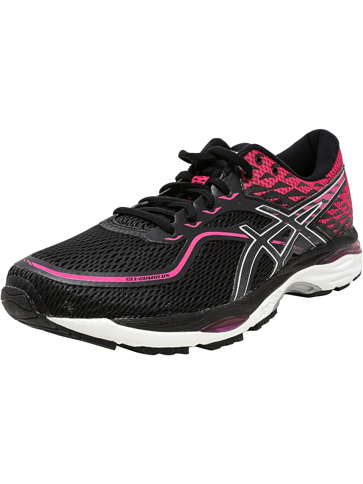Asics Women's Gel-Cumulus 19 Mid Grey / Carbon Safety Yellow Ankle-High Running Shoe - 9.5M