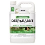 Liquid Fence Deer And Rabbit Repellent Ready-To-Use 1 Gallon