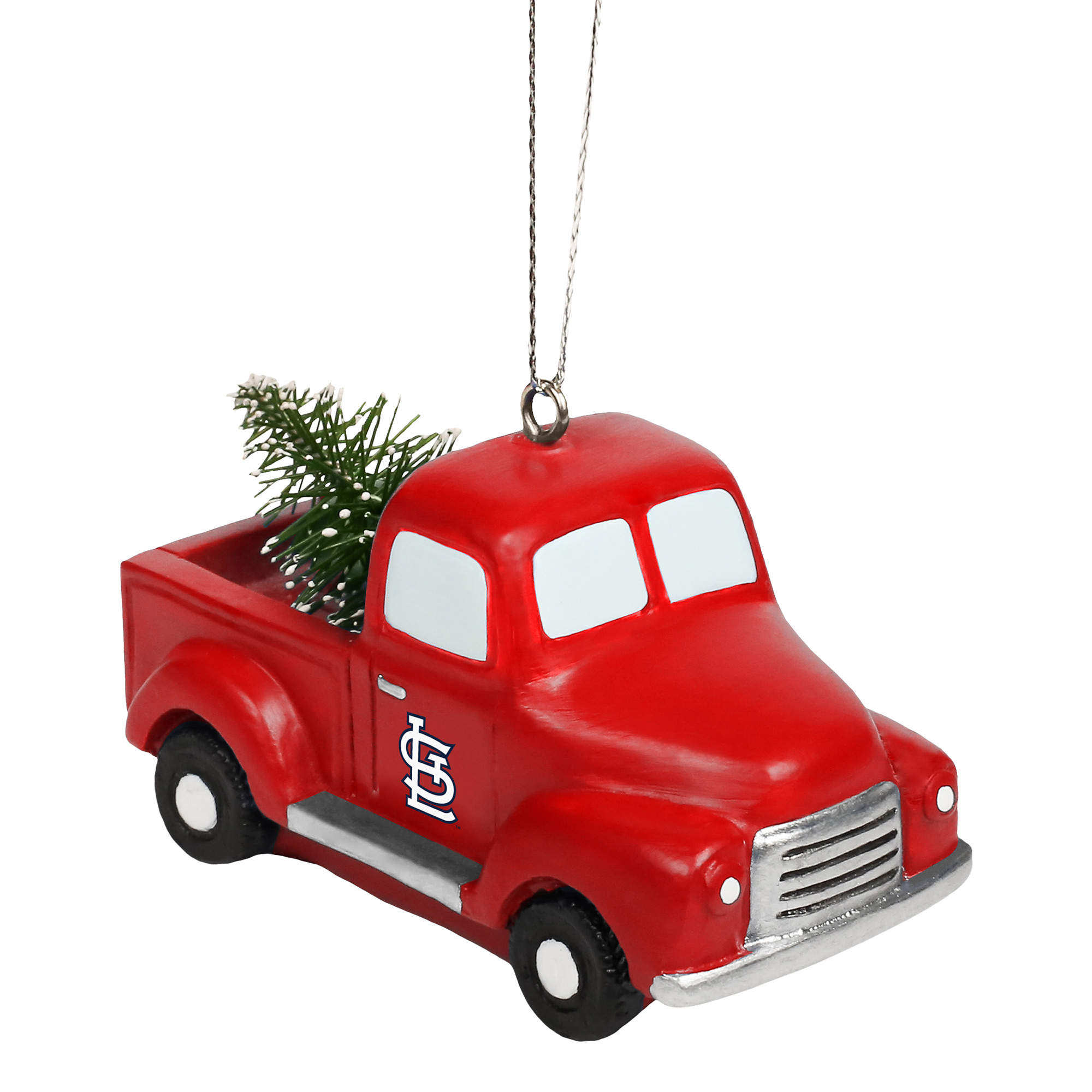 St. Louis Cardinals Truck With Tree Ornament - No Size