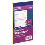 Adams® All Purpose Sales Record Book, 2-Part, with Carbon, 50 Sets per Book