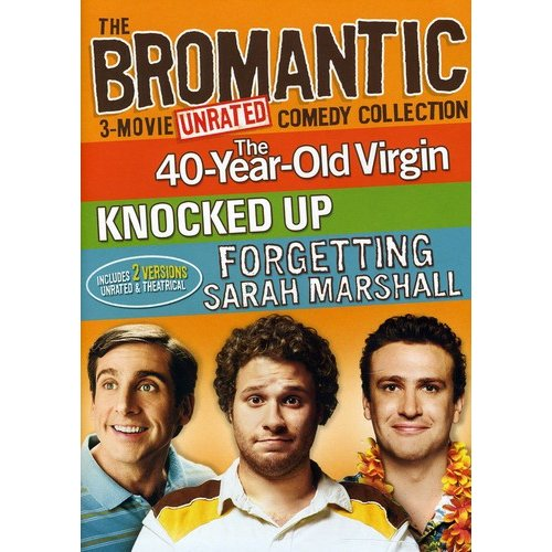The Bromantic 3-Movie Comedy Collection: The 40-Year-Old Virgin / Knocked Up / Forgetting Sarah Marshall (Unrated) (Anamorphic Widescreen)