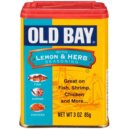 Old Bay with Lemon & Herb Seasoning, 3 Oz Shaker