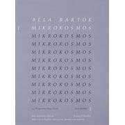 Bela Bartok - Mikrokosmos Volume 1 (Blue): 153 Progressive Piano Pieces (Paperback)