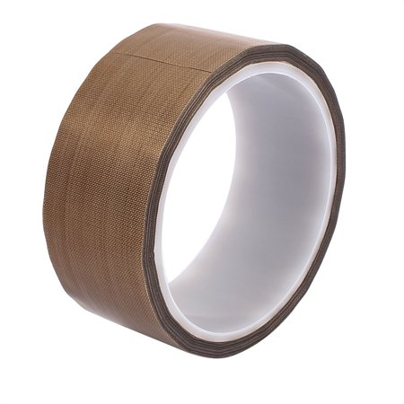 0.13 x 38mm PTFE High Temp Resistant Tape Non-adhesive Tape for Sealing Machine