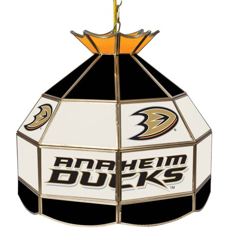 "NHL 16"" Handmade Tiffany Style Lamp, Anaheim Ducks by"