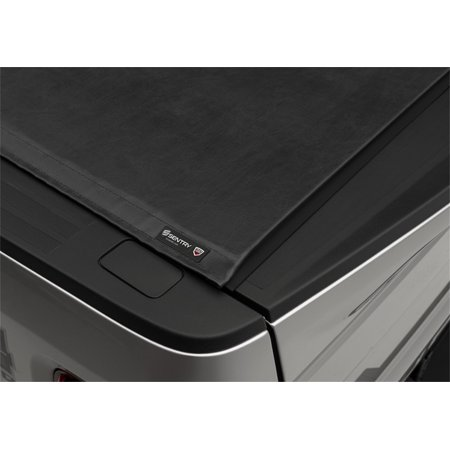 Truxedo 1586901 Tonneau Cover Sentry Hard Roll-Up; Non Lockable; Black; Leather-Grain Vinyl - image 1 of 2
