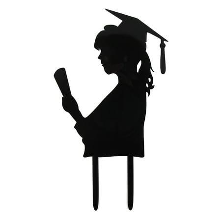 KABOER Graduation Party Cupcake Topper Caps Tassels Cake Decorations - Nursing Graduation Cap Decorations