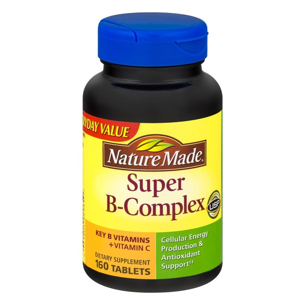 Nature Made Vitamin Super B-Complex - 160 CT