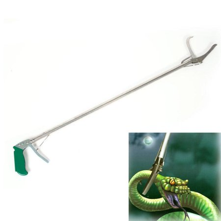 Snake Clasp - Ktaxon Aluminum Alloy Snake Clamp with Self-lock Function (120cm) (100cm) Silver & Green