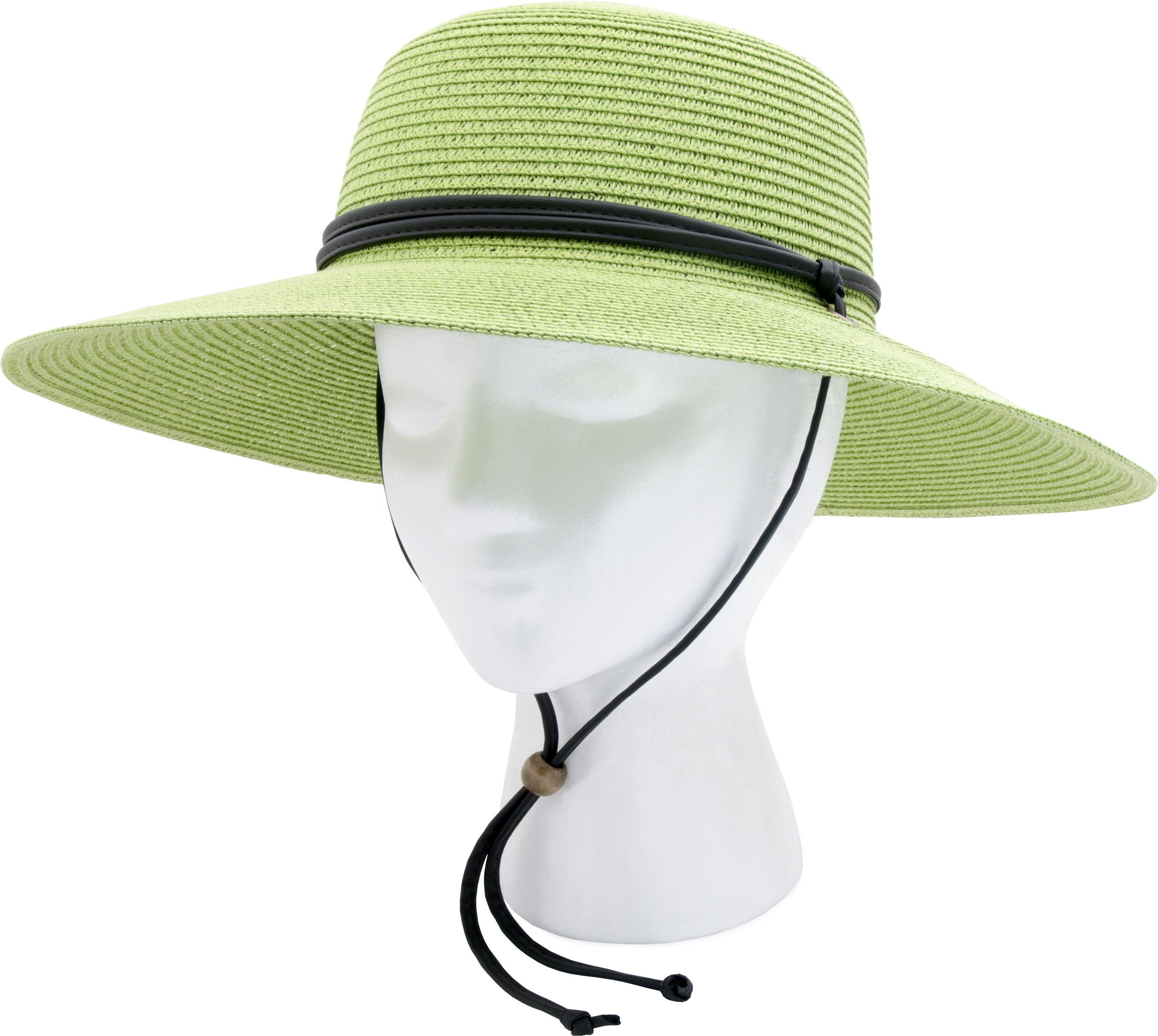 Sloggers 442GB Womens Wide Brim Hat Grey /& Blue