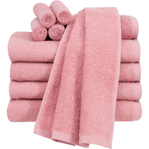 Mainstays Value Terry Cotton Bath Towel Set - 10 Piece Set