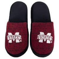 Mississippi State Bulldogs Knit Slide Slippers
