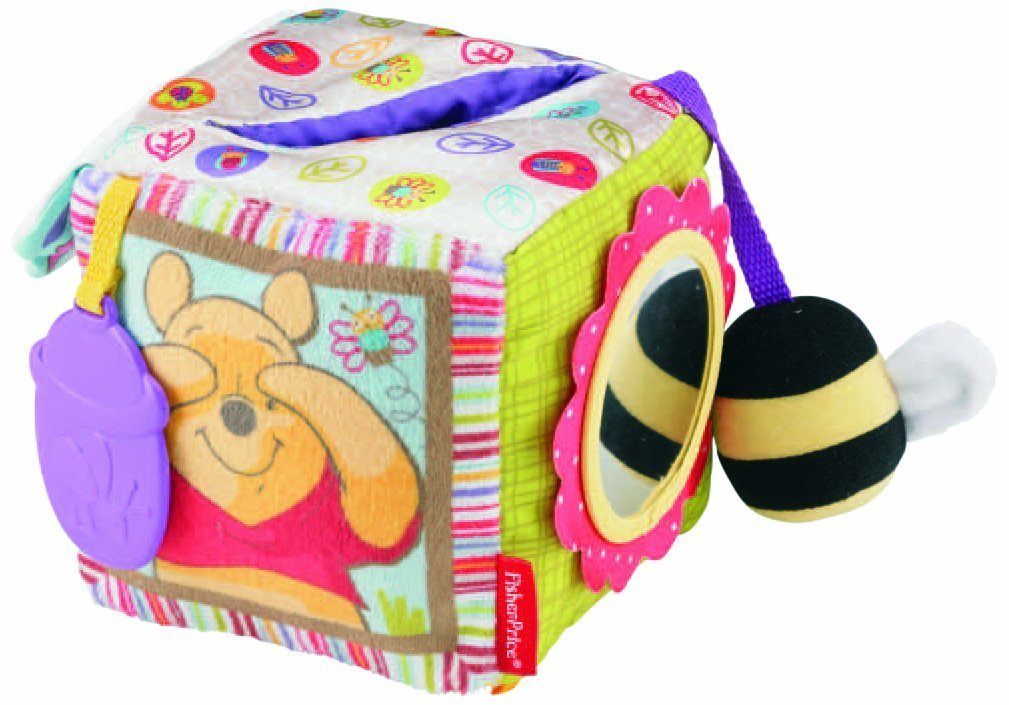 Fisher Price Disney Baby Activity Cube, Winnie The Pooh New FREE SHIPPING by Fisher-Price