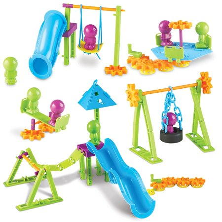 Learning Resources Playground Engineering & Design STEM Set, 104 Pieces - Playground Kit