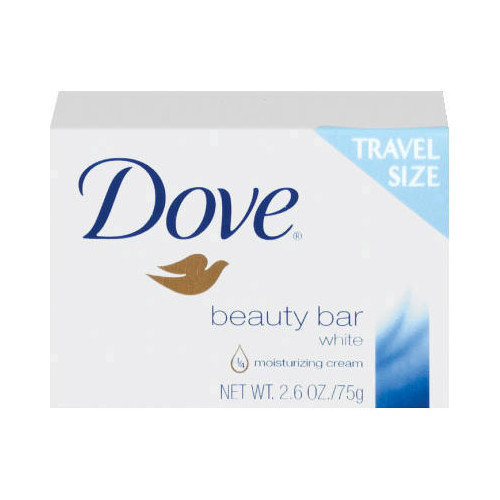 DOVE Travel Size Bar Soap with Moisturizing Lotion - 2.6 OZ (Set of 36) - Walmart.com
