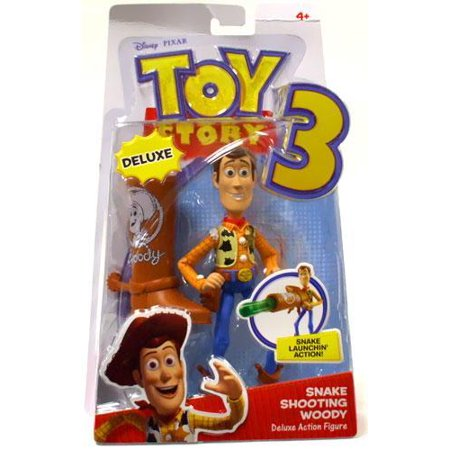 Toy Story 3 Action Figure - Snake Shooting Woody (Toy Story 3 Halloween Special)
